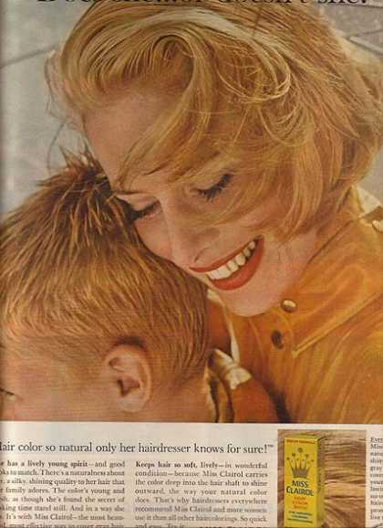 Clairol's Hair Color Bath (1963)