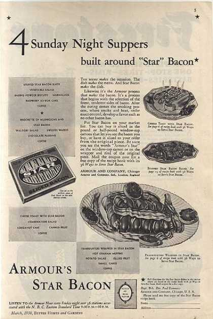 Armour's Star Bacon (1930)