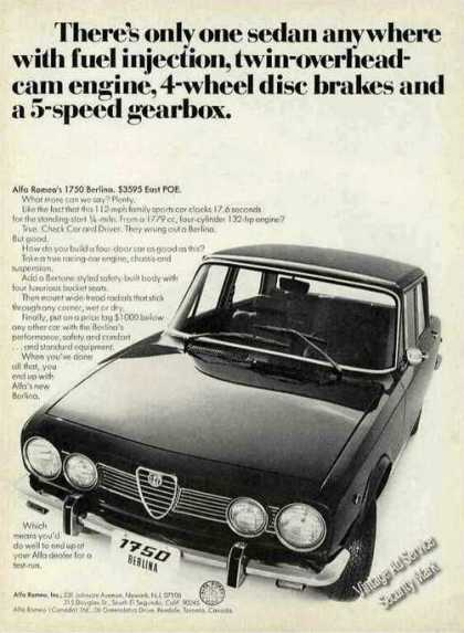Alfa Romeo 1750 Berlina Photo Car (1970)