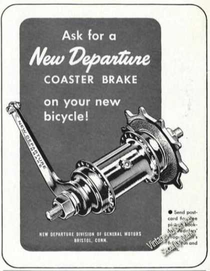 New Departure Bicycle Coaster Brake (1947)