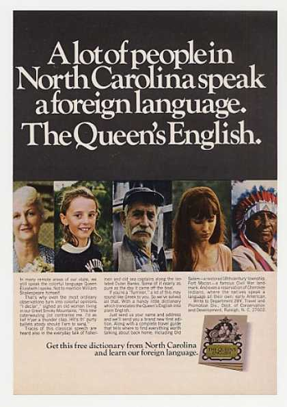 North Carolina People Speak Queen's English (1968)