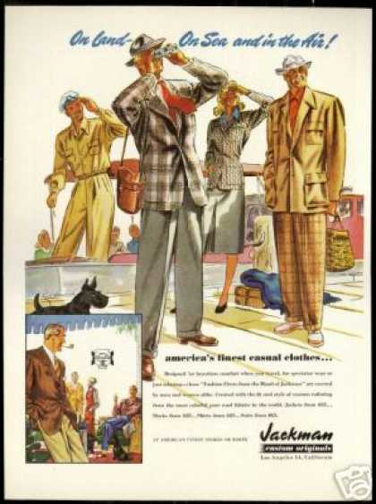 Jackman Fashion Clothes LA Scottish Terrier Dog (1947)