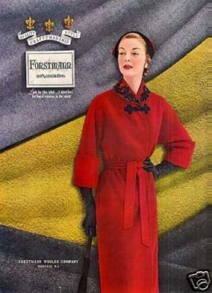 Forstmann Ladies Fashion (1950)