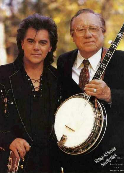 Marty Stuart & Earl Scruggs Magazine Print Photo (1999)
