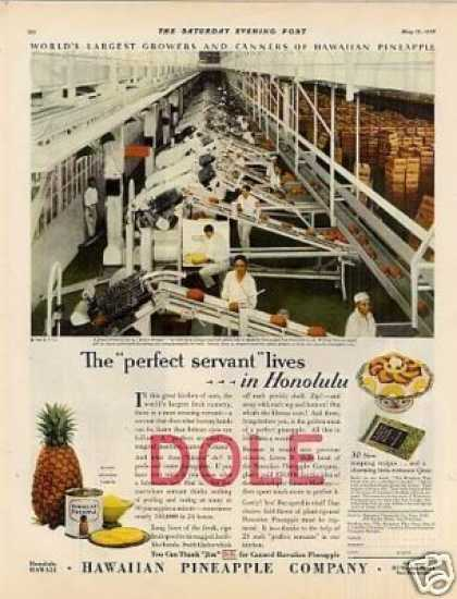 Dole Pineapple Color (1928)