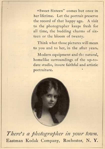 Kodak – There's a photographer in your town (1913)