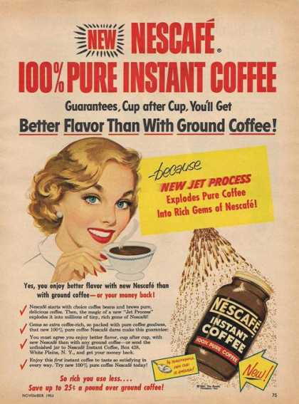 Nescafe Instant Coffee (1953)