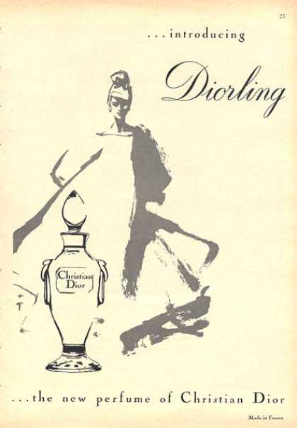 Christian Dior Diorling Perfume Bottle (1964)