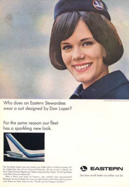 Eastern Airlines Stewardess Don Loper Suit (1966)