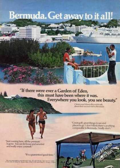 Bermuda Get Away To It All Garden of Eden (1980)