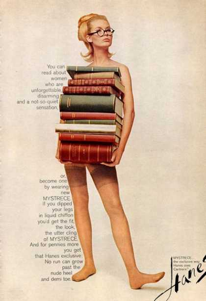 Hanes Panty Hose Library Pretty Girl (1965)