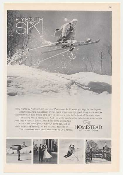 The Homestead Resort Hotel Fly South to Ski (1965)