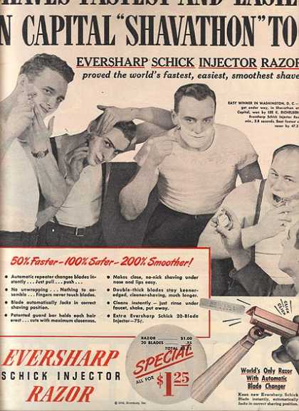 Eversharp-Schick's Injector Razor (1946)