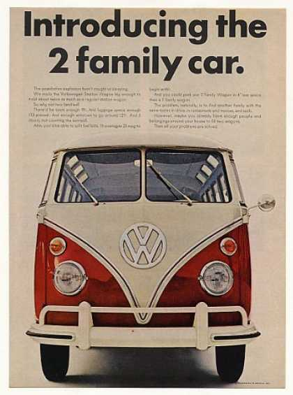 VW Volkswagen Station Wagon 2 Family Car (1966)