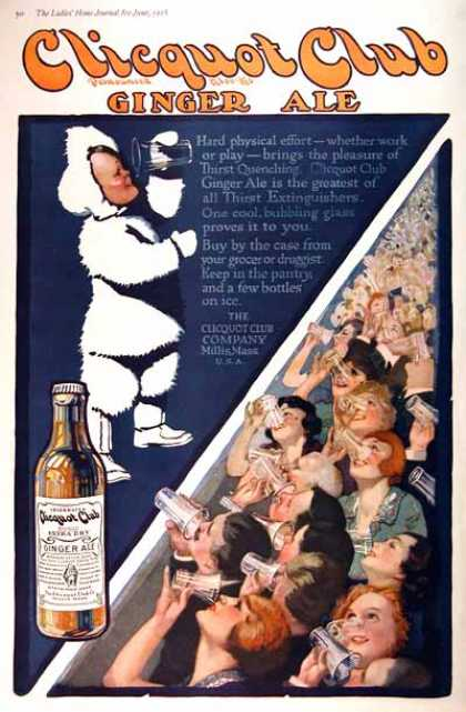 Clicquot Club Ginger Ale (1918)