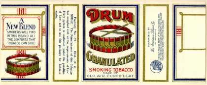 American Tobacco Co.'s Granulated Smoking Tobacco – Drum