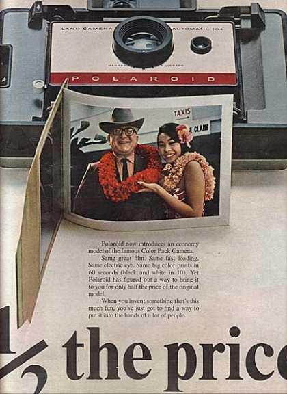 Polaroid's Automatic 104 (1965)