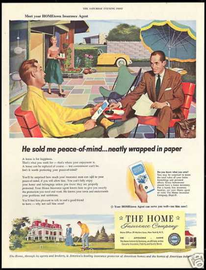 The Home Insurance Co Agent Croquet Game (1954)