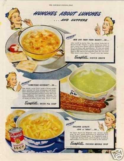 Campbell's Chicken Noodle (1944)