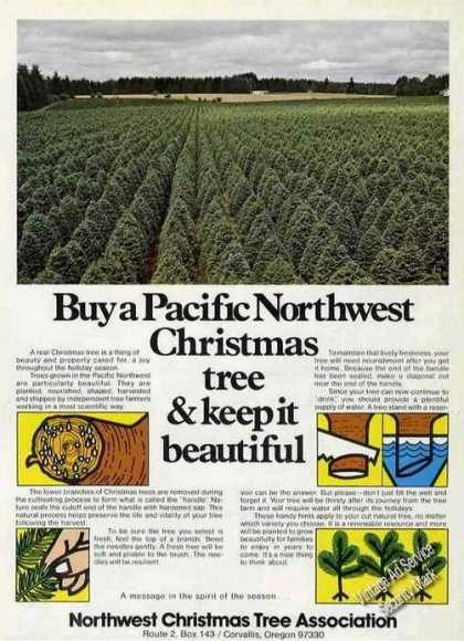Northwest Christmas Tree Assoc. Keep Beautiful (1976)