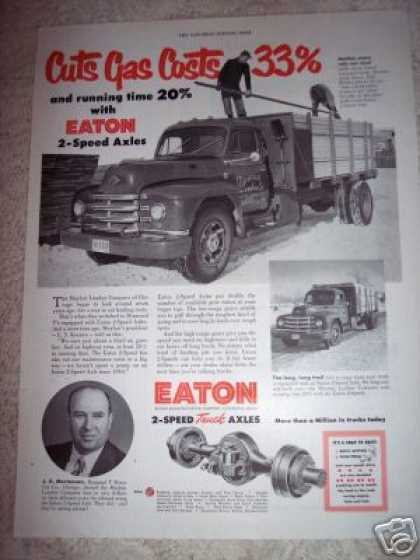 Eaton Truck Axles Mayfair Lumber Chicago (1951)
