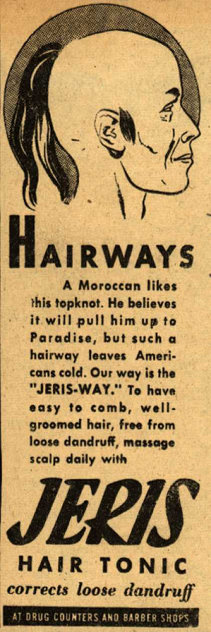 Jeri's hair tonic – Hairways (1945)