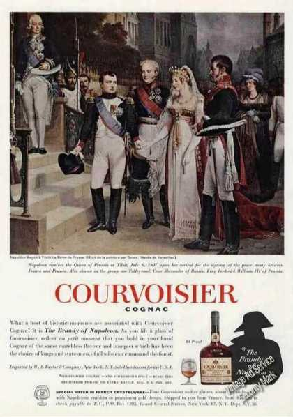 Napoleon Receives Queen of Prussia Courvoisier (1962)