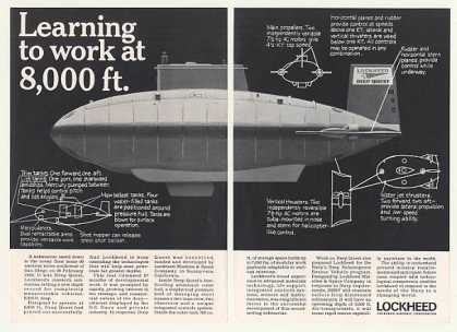 Lockheed Deep Quest Research Submarine (1968)