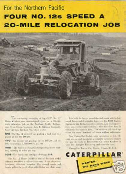 Caterpillar No. 12 Motor Grader (1958)