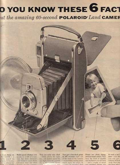 Polaroid's Land Camera (1955)