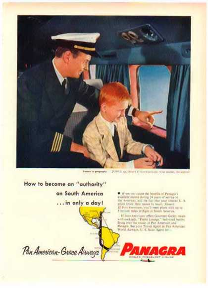Panagra Airlines – An Authority on South America (1952)