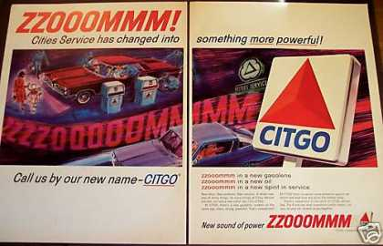 City Service New Name Citgo Gasoline (1965)