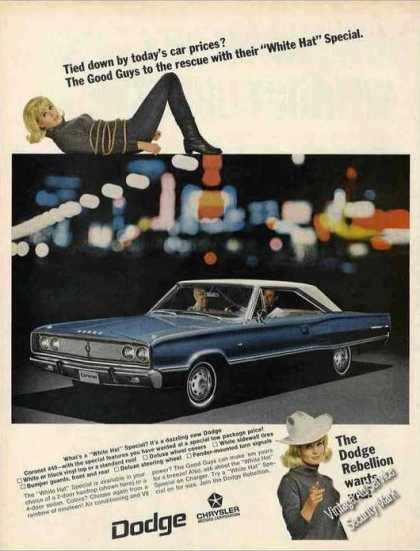 "Dodge Coronet 440 Photo ""Dodge Rebellion"" Car (1967)"