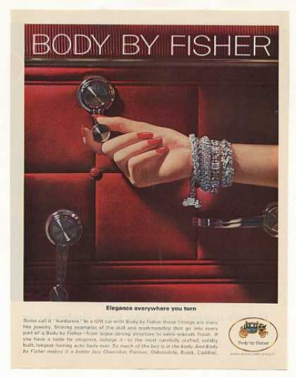 GM Body by Fisher Door Hardware Lady Jewelry (1965)