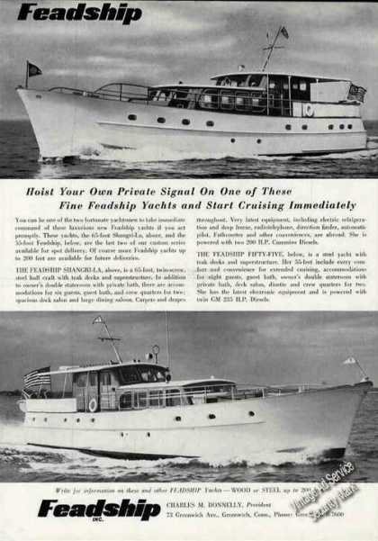 Feadship Yacht Photos Greenwich Ct (1956)