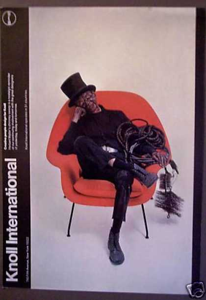 Knoll International Furniture Chimney Sweep (1975)