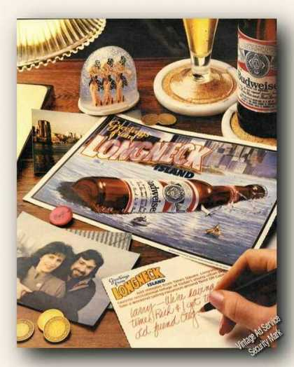Budweiser Greetings From Long Neck Island Promo (1986)