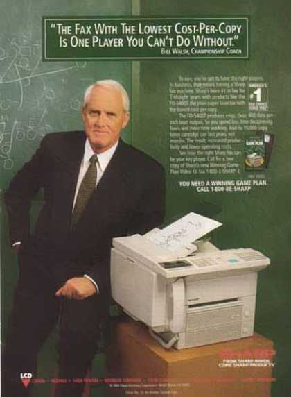 Bill Walsh Championship Coach – Sharp Products (1994)