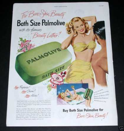 Old , Palmolive, Bare Skin Beauty (1949)