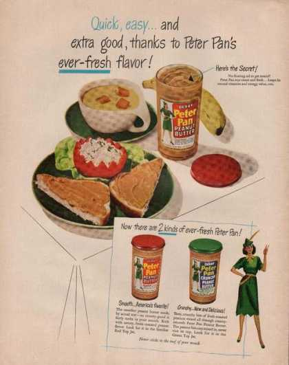 Derby Peter Pan Peanut Butter (1949)