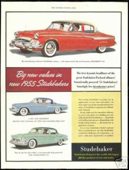 Studebaker President Champion Commander Car (1955)
