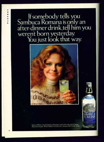 Pretty Woman In Sambuca Romana Liqueur C (1982)