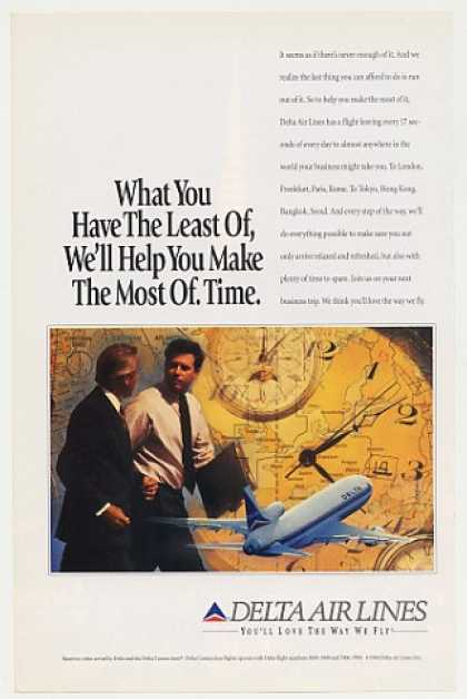 Delta Airlines Help You Make the Most of Time (1994)