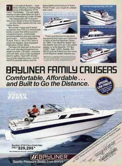 Bayliner Family Cruiser Photos (5) Seattle Wa (1985)