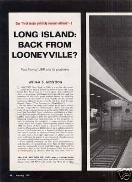 """Long Island: Back From Looneyville?"" Article (1971)"