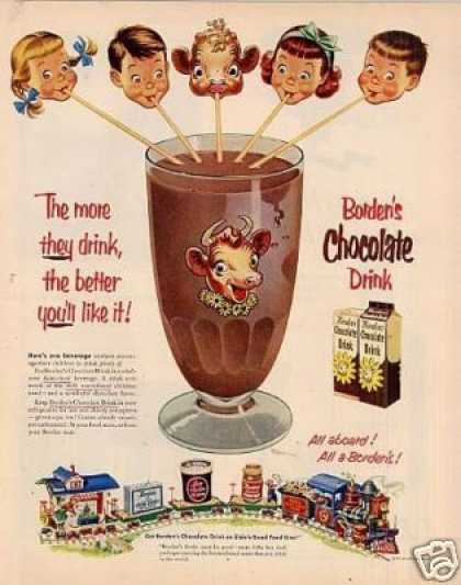 Borden's Chocolate Drink (1953)