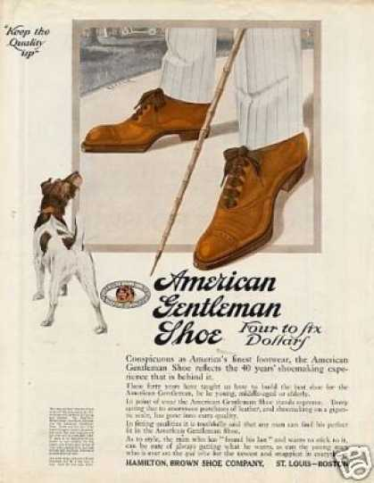 American Gentleman Shoe Color (1913)