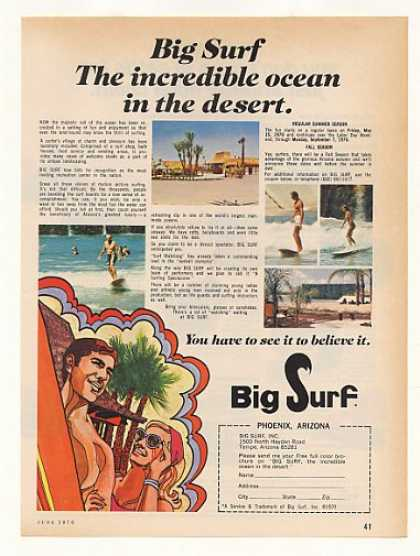 Big Surf Phoenix Arizona Ocean in Desert (1970)