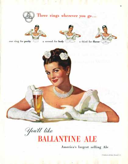 Ballantine Ale – The Bride (1947)