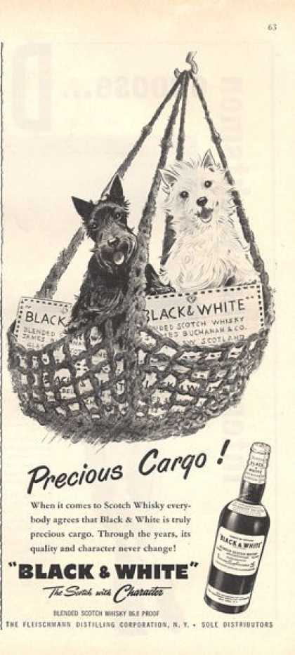 Blackie & Whitie Scotch Precious Cargo (1956)